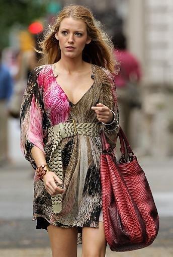 Blake Lively y su vestido de Diane von Furstenberg