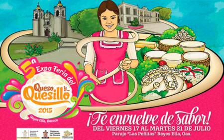 5ª Expo Feria del Queso y Quesillo en Reyes Etla, Oaxaca