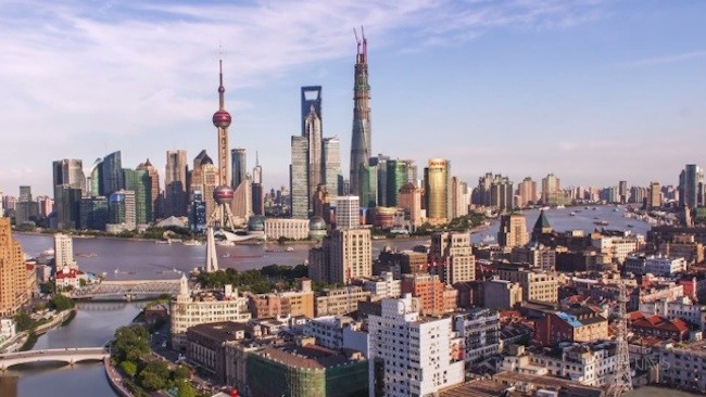 El hipnótico timelapse de la construcción de la Torre de Shanghái