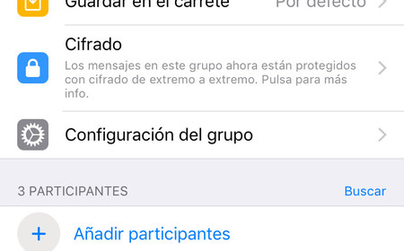 Whatsapp Iphone Configuracion Grupo