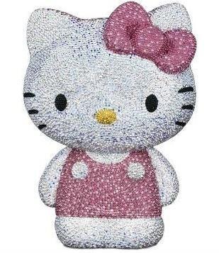 Hello Kitty visto por Swarovski, edición limitada 2011 y nuevos figurines