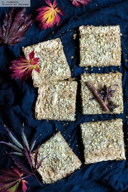 Karidópita o pastel griego de nueces. Receta otoñal y muy mediterránea