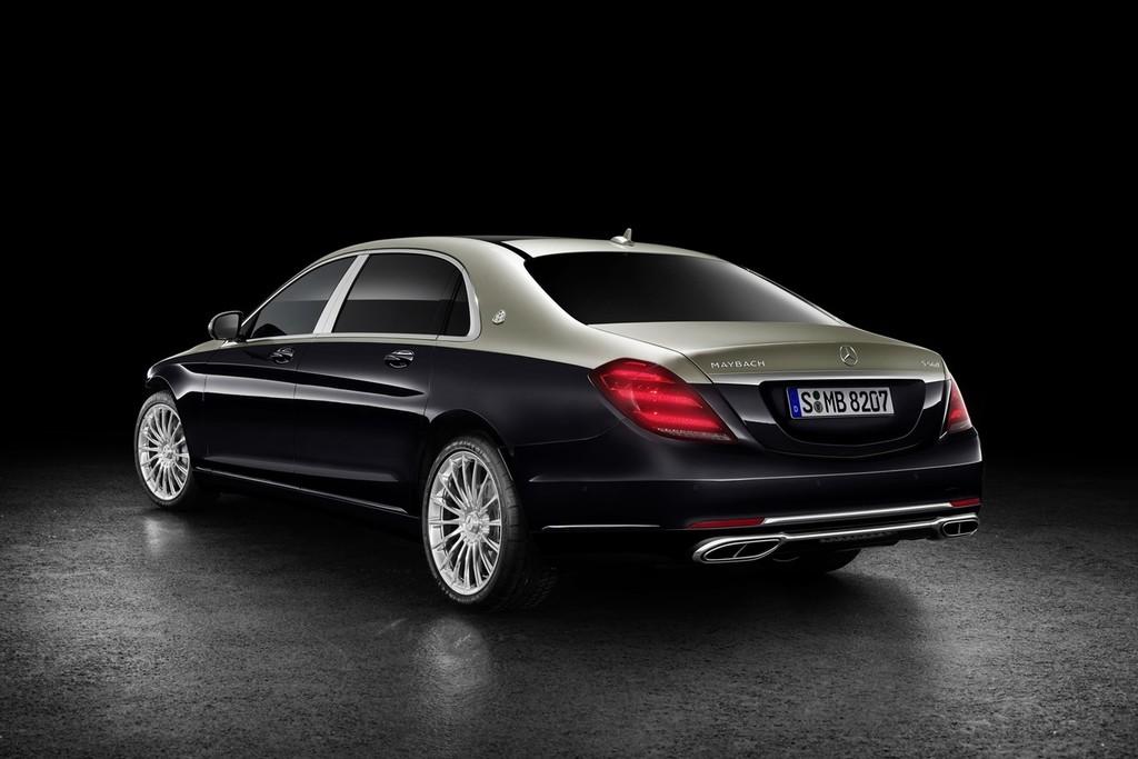 Mercedes-Maybach S bitono