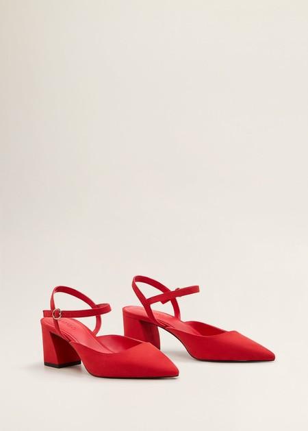 zapatos tacon punta