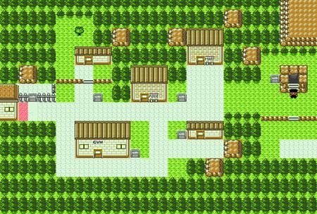 Pokemon Gold Map