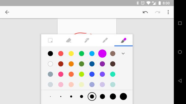 Cómo dibujar en las notas de Google Keep para Android