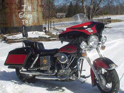 Harley Davidson Shovelhead FLH Sturgis