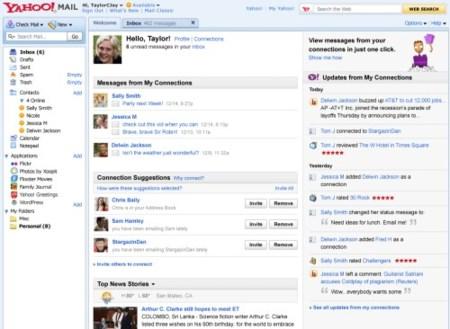 Yahoo Mail Social