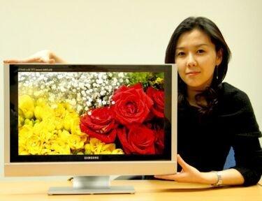 Samsung SDI presentará un panel OLED de 31 pulgadas