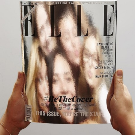 ¿Cómo ingeniárselas para hacer una portada de moda sin presupuesto? Elle (Australia) lo sabe bien