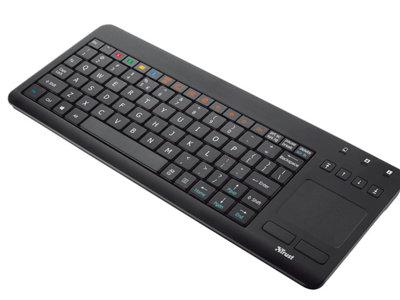 Oferta Bang del día en Fnac: teclado para Smart TV Trust Sento, a 34,99 euros