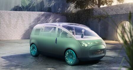MINI Vision Urbanaut propone que tu futuro auto sea una extensión de tu casa, con fragancias personalizables y sofá incluido