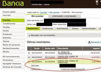 Bankia sólo adapta sus comisiones al resto de las cajas de ahorros
