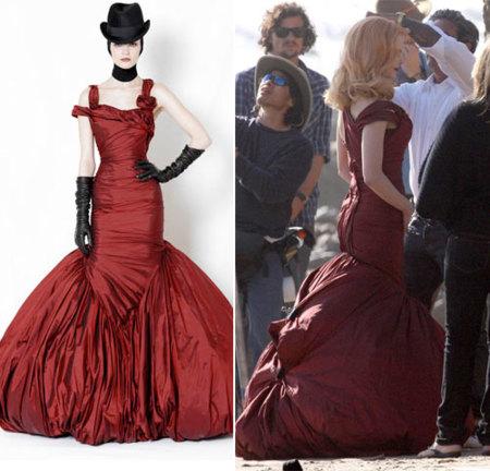 Nicole Kidman toda una lady-like de Alexander McQueen