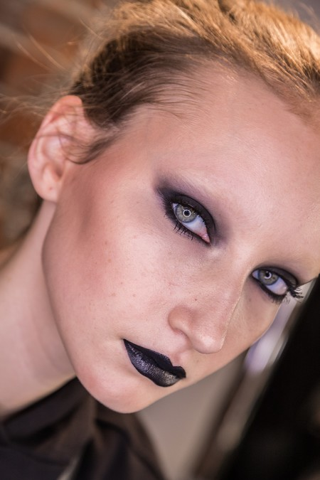 maquillaje negro smoky tutorial
