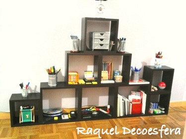 Hazlo tu mismo: una estantería modular