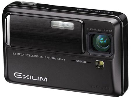 La Casio Exilim EX-V8 ahora en negro