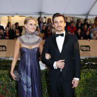 Rupert Friend y Aimee Mullins