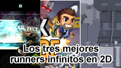 Los tres mejores juegos runner infinitos 2D
