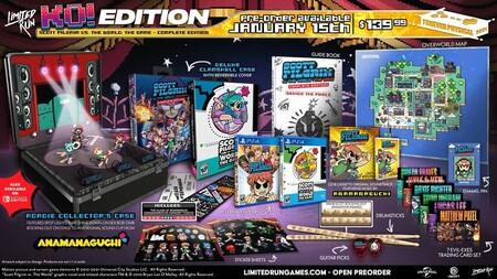 La edición física del videojuego de Scott Pilgrim es una de las más espectaculares jamás vistas, y el precio no se queda corto