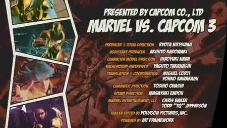 'Marvel vs. Capcom 3': primer tráiler