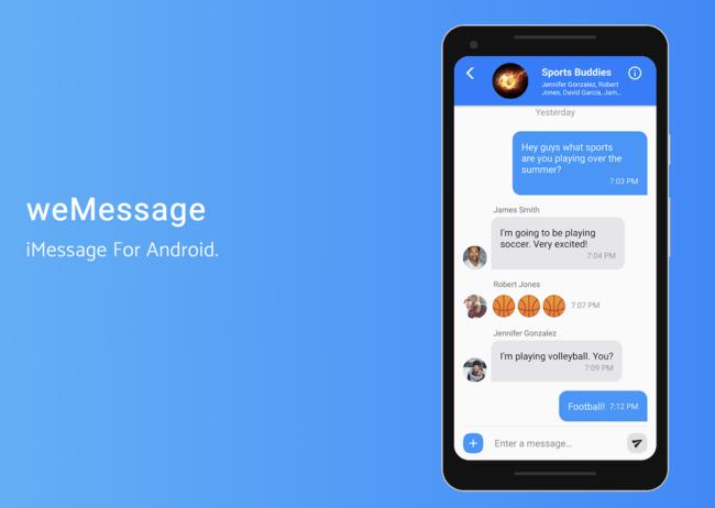 weMessage permite utilizar iMessage desde Android reavivando el debate sobre su exclusividad