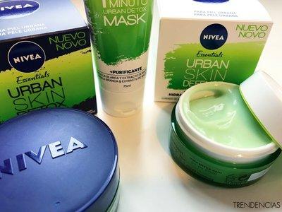 Probamos lo nuevo de Nivea Essentials, la línea Urban Skin para proteger nuestro rostro de la contaminación