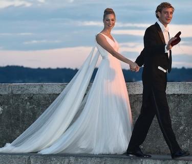 No hay dos sin tres y Beatrice Borromeo sucumbió a otro vestido el día de su boda