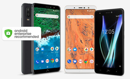 Tres smartphones de BQ obtienen la certificación Android Enterprise Recommended