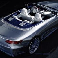 El Mercedes-Benz Clase S Cabriolet está al caer y éste es el primer boceto avanzadilla