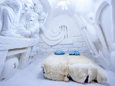 Siete hoteles de hielo para los que pasan de vacaciones en la playa