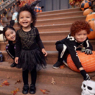 Los disfraces más bonitos de Halloween para niños y niñas de Zara, H&M y Primark
