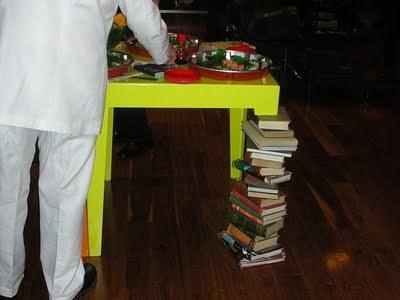 Detalle para la casa de... un aficionado a la lectura