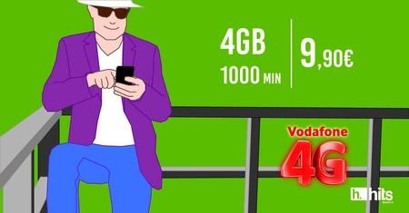 Hits Mobile será el primer OMV en ofrecer a sus clientes la cobertura 4G/4G+ de Vodafone