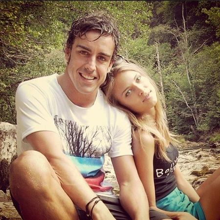 Fernando Alonso no ganará el mundial, pero él y Dasha son los reyes de Instagram