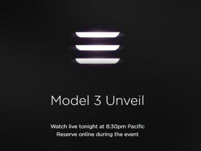 Hoy (o mañana) se presenta el Tesla Model 3 y vas a poder seguirlo en directo
