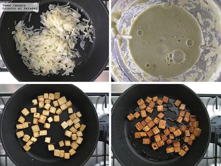 Pasta De Matcha Con Tofu 2