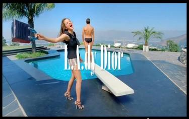 El humo falso de Dior en forma de película con Marion Cotillard