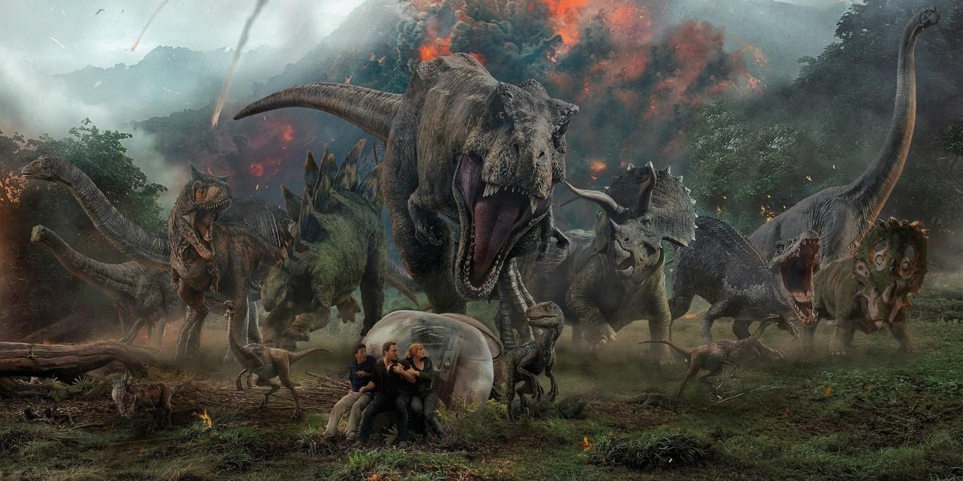 Jurassic World: El reino caído Netflix Chris Pratt