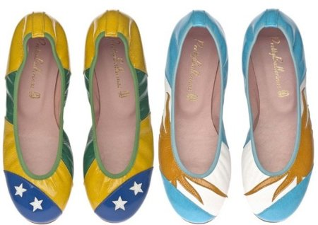 Pretty Ballerinas Flag Collection, las bailarinas del Mundial