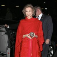 La reina Doña Sofía en la entrega de medallas