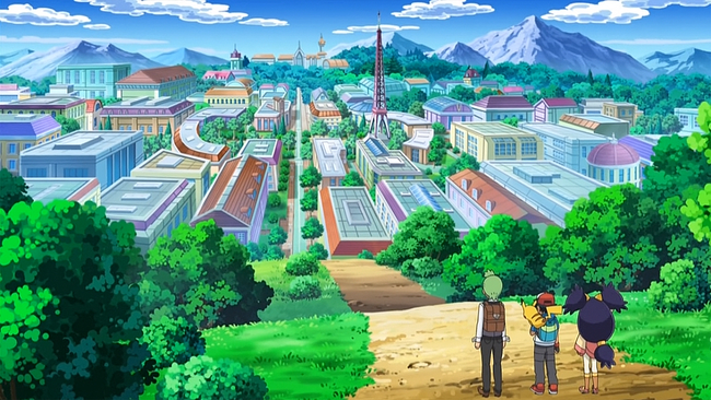 Opelucid City Anime