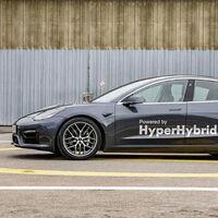 Este Tesla Model 3 ya no es un coche eléctrico: es un prototipo híbrido en serie que funciona con gasolina