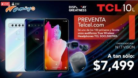 Tcl 10l Lanzamiento Precio Oficial Mexico Telcel