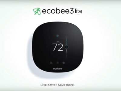 El ecobee3 lite es un termostato inteligente que llega para optimizar la climatización de tu hogar