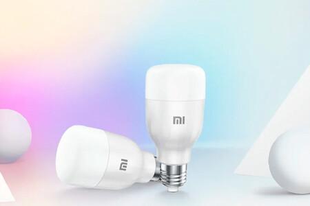La bombilla Xiaomi Mi LED Smart Bulb Essential está de oferta a menos de 10 euros en PcComponentes por el Black Friday