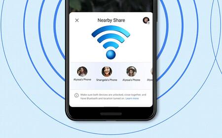 Cómo compartir tu clave WiFi a distancia con otros teléfonos cercanos en Android 12
