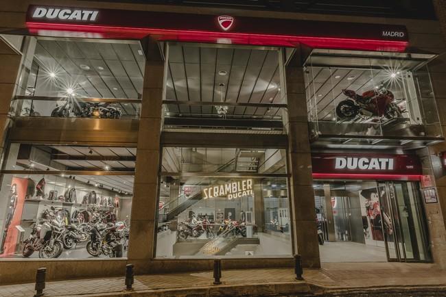 Ducati abre en Madrid su concesionario más grande de España con 1.600 metros cuadrados y tres plantas