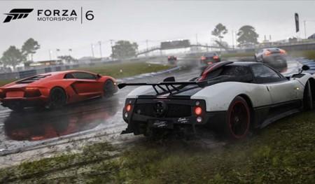 Forza Motorsport 6 nos muestra el espectáculo de conducir bajo la lluvia