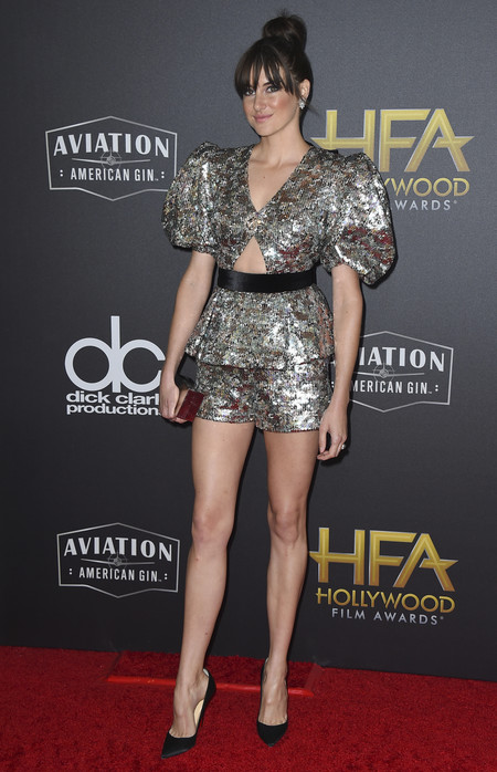 Shailene Woodley hollywood film awards 2018 red carpet look